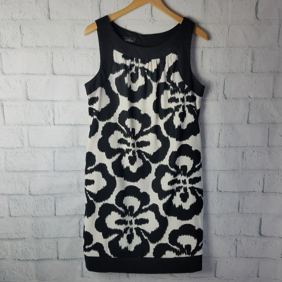 Alyx Dresses & Skirts - ALYX | Black & White Floral Sheath Dress